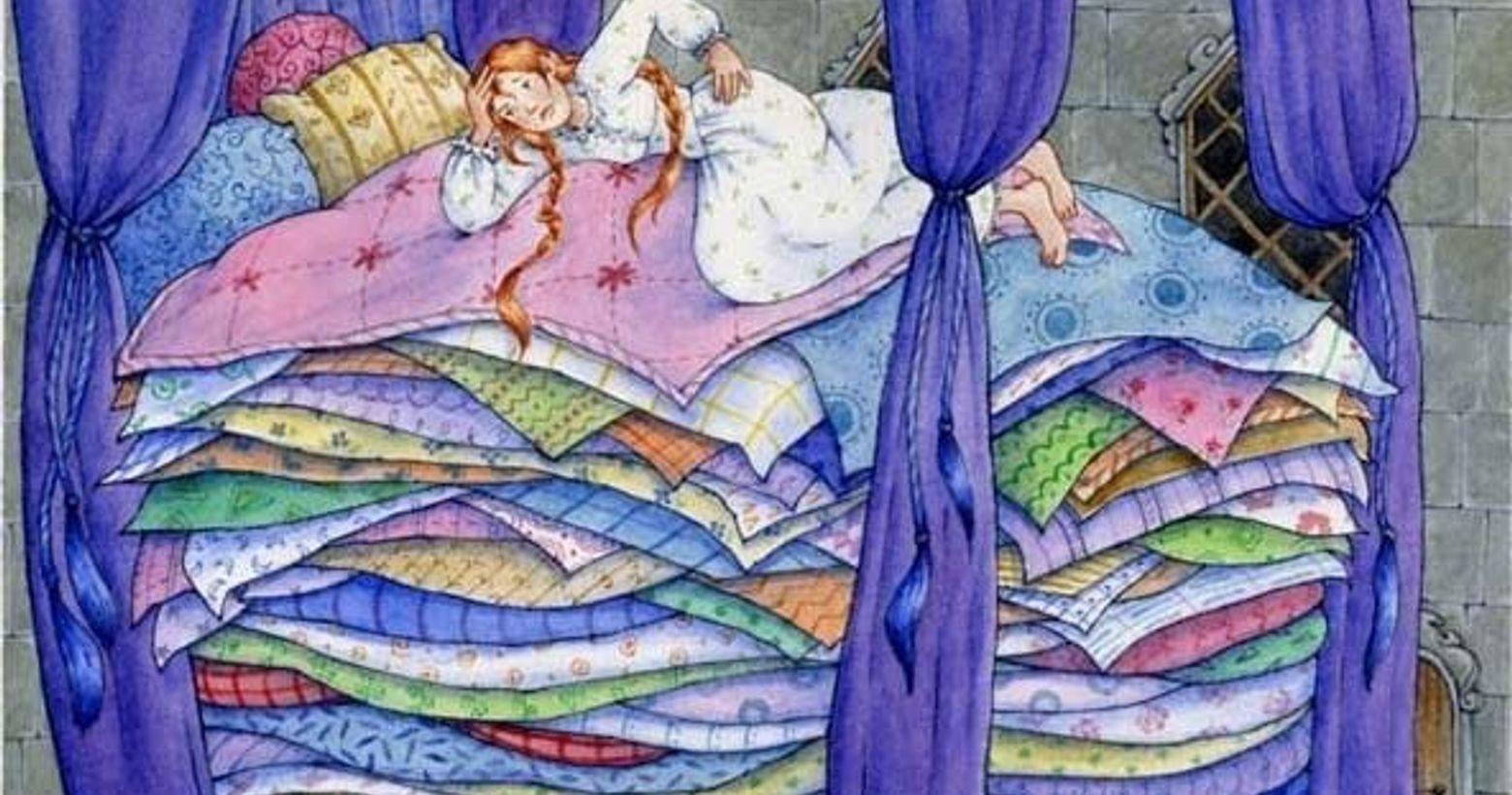 【露絲小姐笑鬧日常—欸妳像哪個公主篇】某晚睡前,我一直翻來覆去,想找到最好入眠的位置和姿勢。還意外在