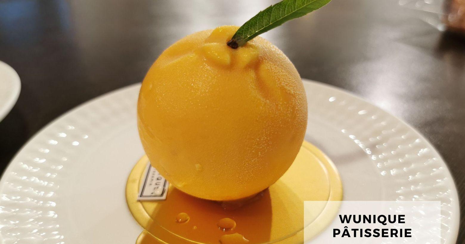 《 甜點午茶 》⠸ 吳一無二法式甜點/wunique pâtisserie⠸ 果物慕斯⠸ 蛋糕櫃裡滿