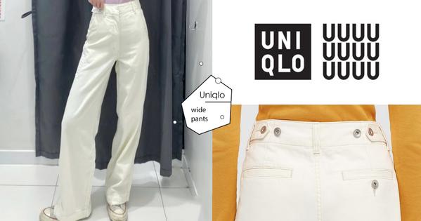 價格、版型都超水!UQ超強寶藏寬褲,腰圍自由調節+顯腿直、腿長又顯瘦!